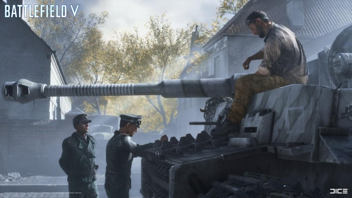 """Mein neuer Artikel, jetzt @Spielkritik.com: """"Battlefield V: The Last Tiger – Eine geglückte Gratwanderung auf deutscherSeite?"""""""